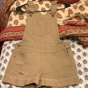 Tan overall Shorts!